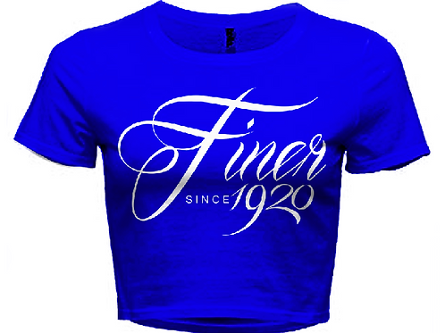 FinerSince1920 Crop Tee