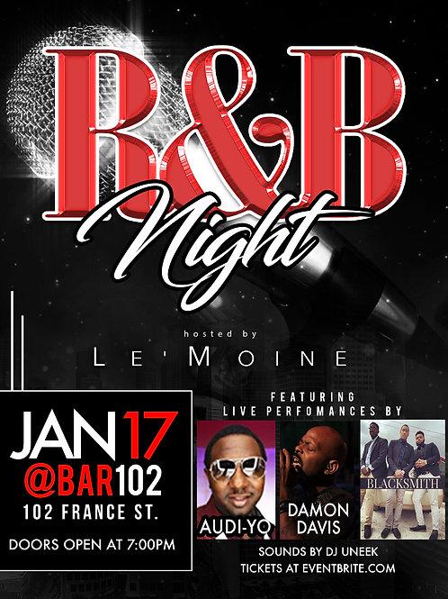 R&B Night Flyer