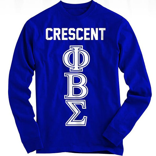 Crescent PBS Long sleeve Tee