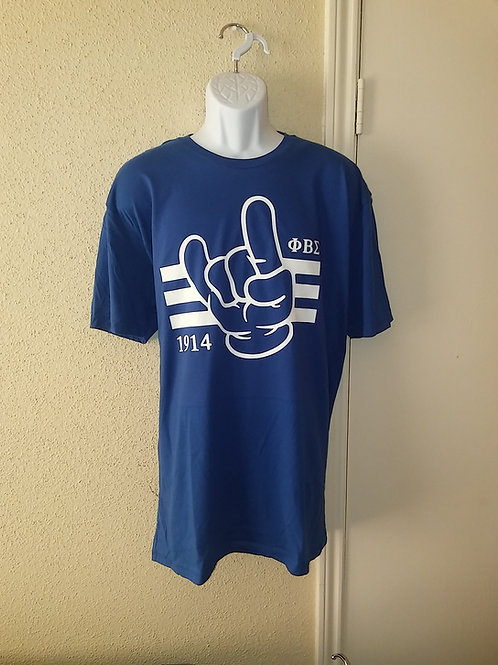 PBS Hand Sign Premium Fitted Tee