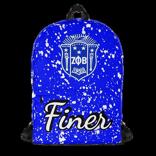 ZPB Splattered Shield Backpack