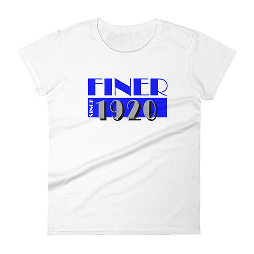 Finer MV Pearlz short sleeve t-shirt