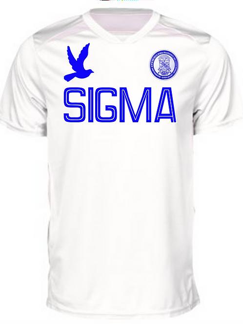 PBS Hawkeye Soccer Jersey - White Edition