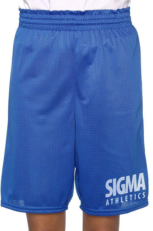 PBS SIGMA Athletic Mesh Shorts