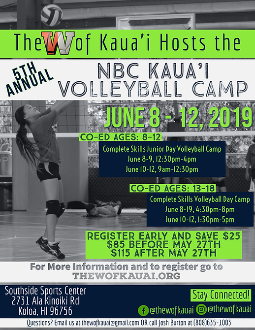 2019 NBC Kauai Volleyball Camp Flyer.png