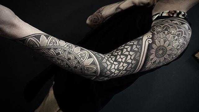 Arm sleeve I did few months ago on the q