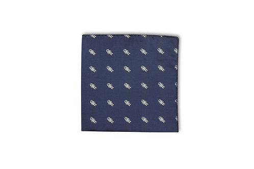 Gibson silk printed pocket hank