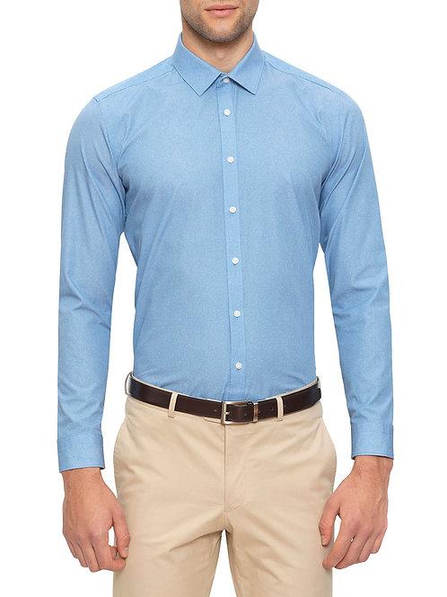Gibson Mutu Blue Print Shirt