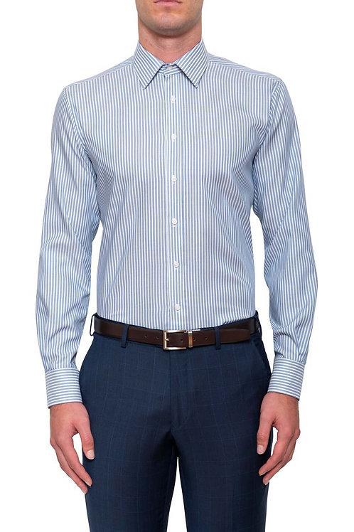 Cambridge Prouse Blue Stripe Shirt