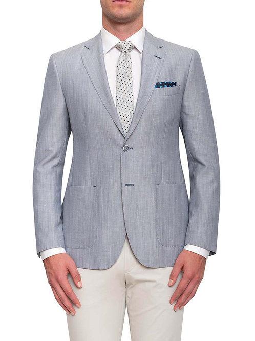 Cambridge Beaumaris Blue Linen Jacket