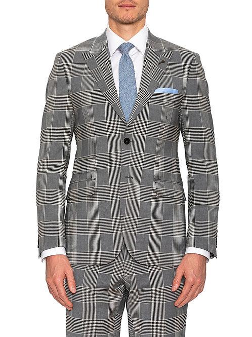 Joe Black Felipe Grey Check suit