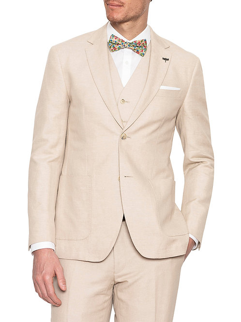 Gibson Electron Linen Sand suit