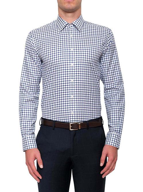 Cambridge Ward Blue check Shirt