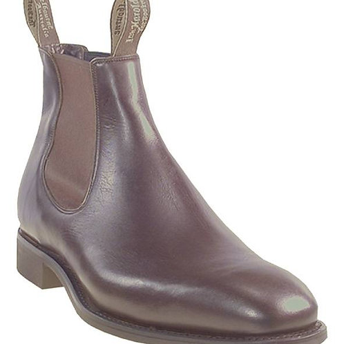 Harold boots Grazier Brown
