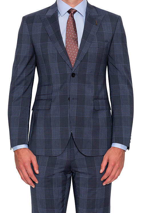 Joe Black Felipe Blue Check suit