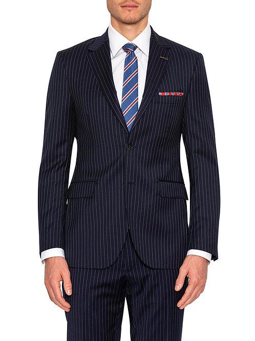 Joe Black Fraser Navy stripe suit