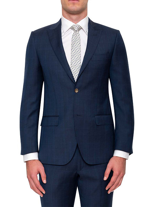 Cambridge Morse Navy check suit