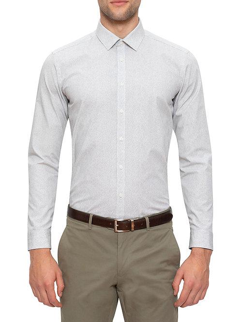 Gibson Mutu White Print Shirt