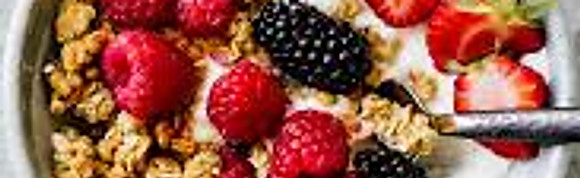 Healthy Yogurt & Granola