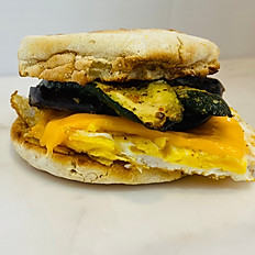 Breakfast Sandwich with Grilled Veggies