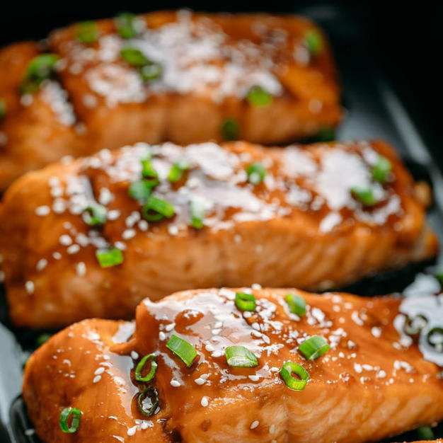 Teriyaki Salmon Fillet Box