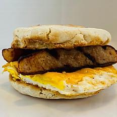 Breakfast Sandwich with Sausage