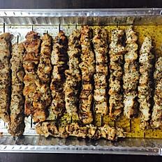 Grilled Chicken Kebobs