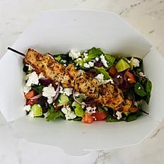 Souvlaki Kebab Greek Salad