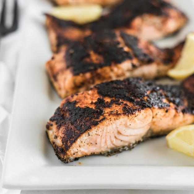 Blackened Salmon Fillet Box