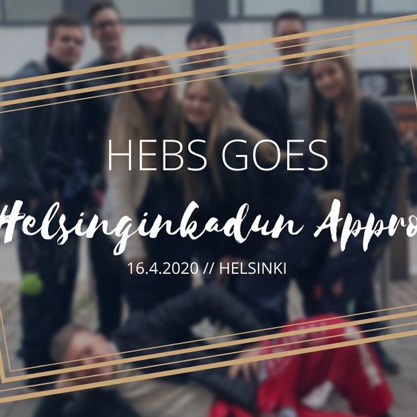 Helsinginkadun Appro 16.4. 18:00
