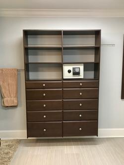 Custom closet design and install