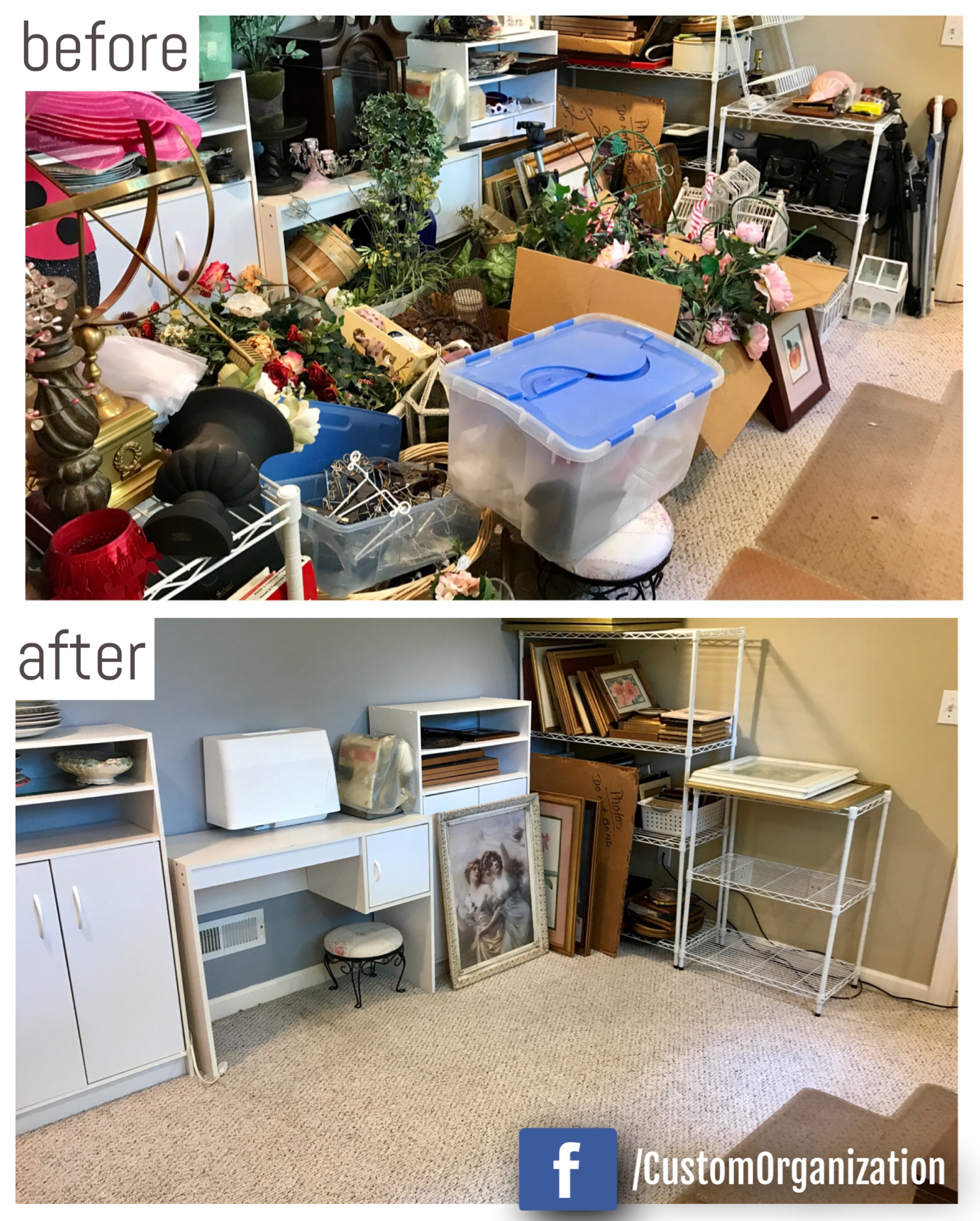 home decor / craft area