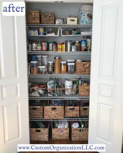 pantry declutter & organize
