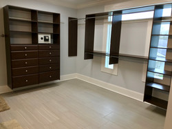 Custom closet design and install