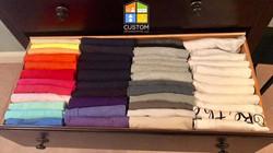 konmari clothes organization