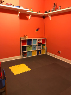 play room organization