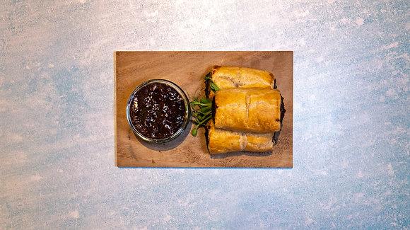Laverack's Caramelised Onion Sausage Roll