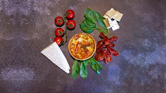 Brie, Sun-Blushed Tomato & Basil (Small)