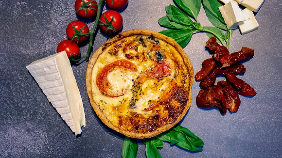 Brie, Sun-Blushed Tomato & Basil (Medium)