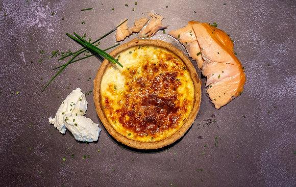 Salmon & Crème Fraîche (Medium)