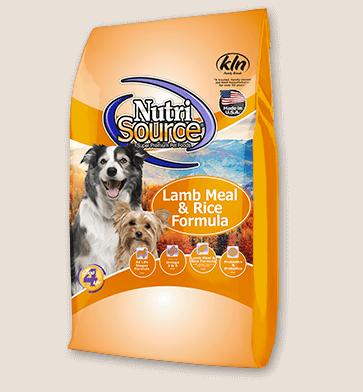 NutriSource Lamb & Rice Dog Food