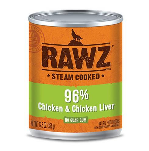 Rawz Dog 96% Chicken & Chicken Liver Can