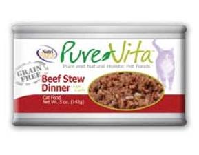 PureVita Beef Stew Cat Cans 5.5 oz