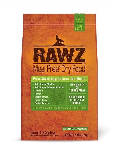 Rawz Dog Meal Free Chicken