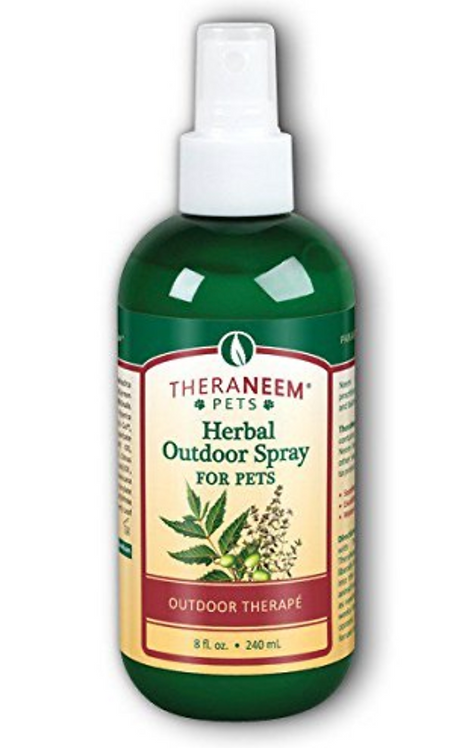 Theraneem Herbal Outdoor Spray For Pets 8 oz.