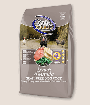 NutriSource Senior Chicken & Rice Dog Food