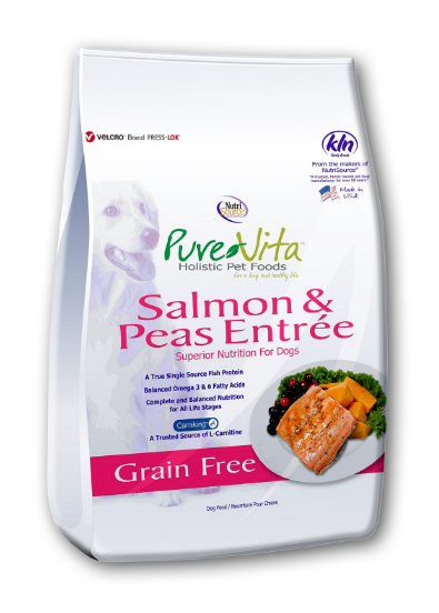 PureVita GF Salmon & Pea Dog Food