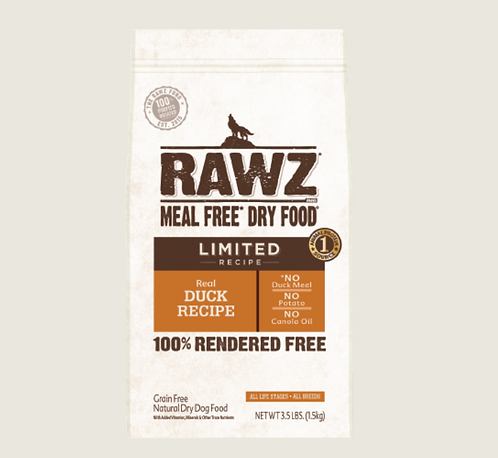 Rawz Dog Meal Free Duck