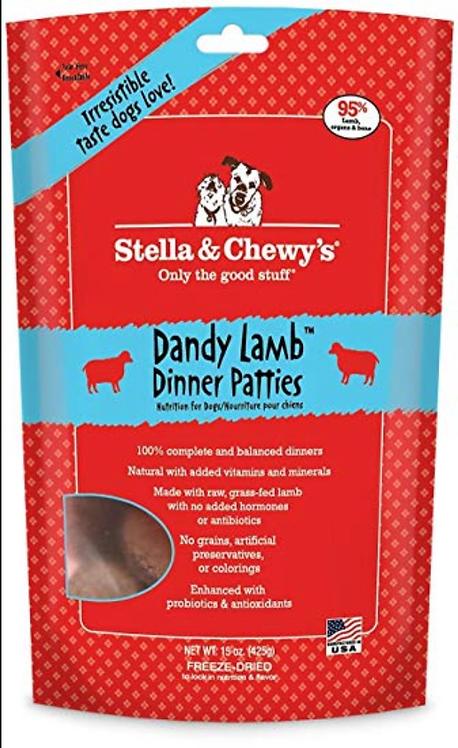 Stella & Chewy's Lamb Patties 6 lbs.