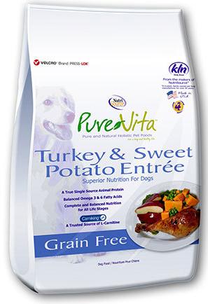 PureVita GF Turkey & Sweet Potato Dog Food